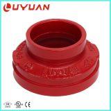 Riduttore concentrico Grooved del ferro duttile con ASTM un materiale 536