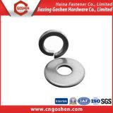 Rondelle plate d'acier du carbone d'acier inoxydable, rondelle à ressort, rondelle carrée