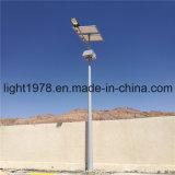 Indicatore luminoso di via solare del rifornimento con il comitato solare nel Libano