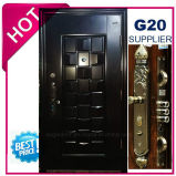2017 Metal Exterior de qualidade superior da porta de segurança de aço (EF-S124)