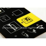 Изготовленный на заказ кнопочная панель Membrane Foil Switch с Embedded СИД