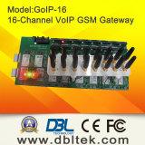 DBL16는 GSM 게이트웨이 GoIP16를 향한다
