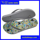 Nouveau design coloré Flip Flops d'impression de Lady & Man