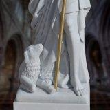 Fromme Statue-Skulptur, Marmorstatue T-8023