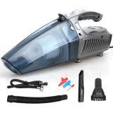 L'aspirapolvere ad alta potenza dell'aspirapolvere dell'automobile con il LED illumina l'aspirapolvere tenuto in mano della pompa gonfiabile tenuta in mano dell'automobile