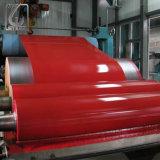 0.5*1219mm RAL9003 Prepainted bobina de aço com revestimento de cor