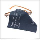 Tecido de limpeza personalizado para óculos de microfibra de logotipo