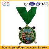 Medaglia ricca del metallo di placcatura di vendita calda per la decorazione