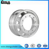L'ISO Tubeless 22,5 Jante de roue en acier pour les pneus 12-22,5