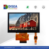 De Module van 4.3 Duim TFT LCD met het Capacitieve Comité 480X270 RGB 18bit 480CD/M2 van de Aanraking