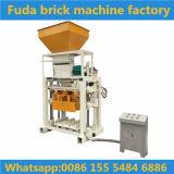 De halfautomatische Hydraulische Machine van de Baksteen van de Betonmolen/de Machine van de Stevige Baksteen