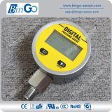 Disparar calibre de pressão digital de 65mm / 100mm para gás, água