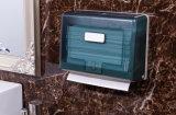 Dispensador de toalha de papel com tinta transparente verde (KW-718)