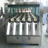 Acier inoxydable de série de Qgf machine de lavage de cachetage de chapeau de bouteille d'eau de 5 gallons