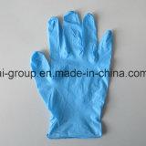 Порошковое одноразовые нитриловые перчатки для медицинской проверки