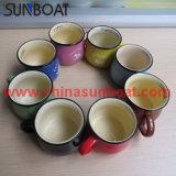 Novo Produto Zakka copo de leite do esmalte/cerâmica caneca de café de esmalte