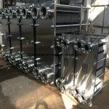 Échangeur de chaleur sanitaire de plaque plate de l'acier inoxydable AISI304/AISI316L de catégorie comestible pour le refroidissement du lait