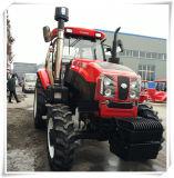 販売のためのフロント・エンドローダーそしてバックホウが付いている小さい農場トラクター