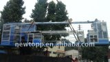Fio do Teflon de ETFE/FEP/PFA e máquina da extrusora do cabo