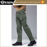 Black Sport Cargo Pants Army Training Combat Outdoor Calças
