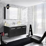 Salle de bains armoire avec miroir 3D et de stockage de grande capacité