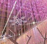 [لد] عيد ميلاد المسيح خارجيّ زخرفة خيط ستار دلّاة جليديّة ضوء عطلة