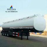 Halb LKW, der Tanker-Handfeuchtigkeits-Benzin-flüssigen Speicher-Kraftstoff-Transport-Schlussteil zieht