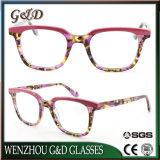 Nuevo producto de moda el espectáculo de acetato de bastidor de la óptica gafas Gafas