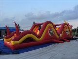2016 neues Arrival Inflatable Dragon Theme Obstacle Course für Sale