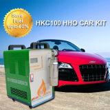 A água como o combustível conserva o combustível até jogos do gerador de Hho do carro de 40%