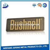 Métal personnalisé d'acier allié estampant les plaques d'identification avec le poinçon et la soudure