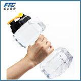 Botella de agua grande de la bebida del entrenamiento de la gimnasia del deporte de la pesa de gimnasia