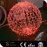 Luz de esferas em 3D para Decoração de Natal