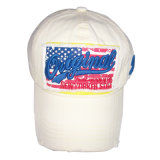 Chapéu lavado do paizinho das calças de brim com logotipo agradável Gj1763