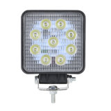18W 27W luz LED de trabajo 10V-80V LED de alta potencia de faros de coche