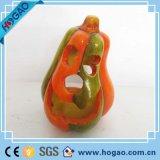 Ручная работа искусственные смолы Хеллоуин тыквы фигурка для продажи