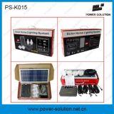 電話充電器(PS-K015)が付いている再充電可能な太陽ホーム照明装置
