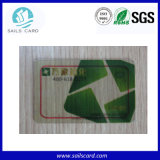 투명한 PVC RFID 카드를 통해서 보십시오