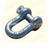 ヨーロッパのタイプステンレス鋼、鋼鉄はDの手錠の装備に電流を通した