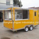 販売の販売の移動式台所トロリーのための最もよい食糧トレーラー