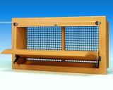 Maison de la volaille Entrée d'air de ventilation