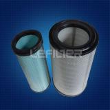 Cartuccia dell'aria del cilindro pieghettata filtro dell'aria del poliestere di Donaldson