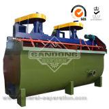金の回復のための通気の浮遊機械