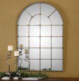 Het hete Zilver van het Metaal van de Verkoop Hand Gesmede beëindigde de de Frame Spiegel van de Muur/Decoratie van het Huis