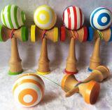 Kleurrijke het Schilderen Jonge geitjes die Kentamas spelen