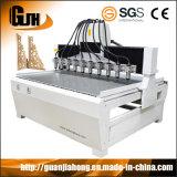 La madera de husillo múltiple Router CNC máquina