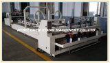 Machine van Gluer van de Omslag van de Doos van het Karton van de hoge snelheid de Automatische Golf