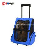 De viaje Trolley portátil Pet Carrier Equipaje Bolsa de transporte de mascotas