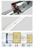 Et75-1 Black L Shape LED Wall Light Lâmpada de exterior