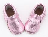 Venda a quente de boa qualidade sapatos de bebé suave